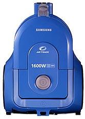 Пылесос Samsung VCC4326S31 (голубой) - вид спереди