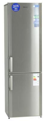 Холодильник с морозильником Beko CS338020X - общий вид
