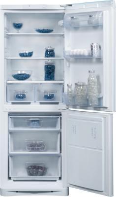 Холодильник с морозильником Indesit NBA 16 - общий вид