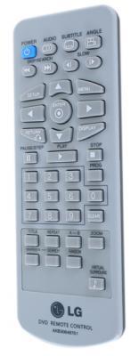 Портативный DVD-плеер LG DP482B - пульт управления