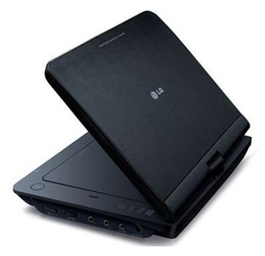 Портативный DVD-плеер LG DP482B - общий вид