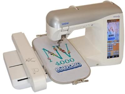 Швейно-вышивальная машина Brother INNOV-'IS 4000 - вид сверху