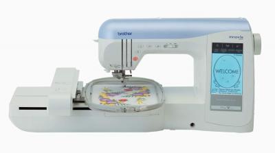 Швейно-вышивальная машина Brother INNOV-'IS 1500 - с расширителем рабочей поверхности