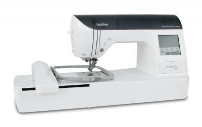 Швейно-вышивальная машина Brother Innov-is 750E - вид сбоку