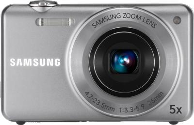 Компактный фотоаппарат Samsung ST93 (EC-ST93ZZBPSRU) Silver - вид спереди