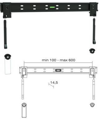 Кронштейн для телевизора Brateck LED-026