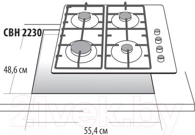 Газовая варочная панель Gefest 2230 К6