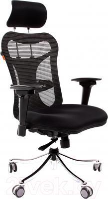 Кресло офисное Chairman 769 (ткань TW, черный)