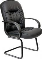 Стул офисный Chairman 416V (экокожа, матовый черный) -