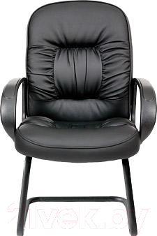 Стул офисный Chairman 416V (экокожа, матовый черный)