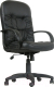 Кресло офисное Chairman 416 (экокожа, глянцевый черный) -