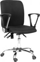 Кресло офисное Chairman 9801 Chrom (черный) -