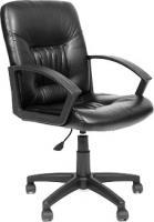 Кресло офисное Chairman 651 (экокожа, черный) -