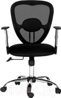 Кресло офисное Chairman 451 (ткань TW, черный)