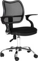 Кресло офисное Chairman 450 Chrom (черный) -