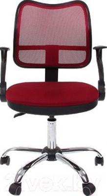 Кресло офисное Chairman 450 Chrom (красный)