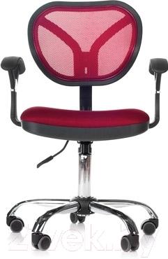 Кресло офисное Chairman 380 (бордо)