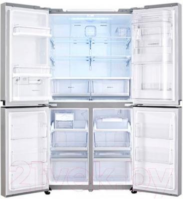 Холодильник с морозильником LG GR-M24FWCVM - внутренний вид