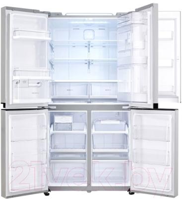 Холодильник с морозильником LG GR-M24FWCVM