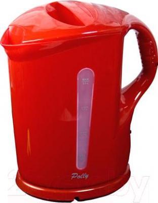 Электрочайник Polly ЕК-09 (красный) - общий вид