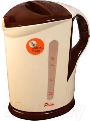 Электрочайник Polly ЕК-09 (бежево-коричневый) - общий вид