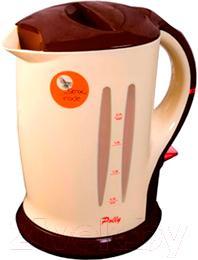 Электрочайник Polly ЕК-12 (бежево-коричневый) - общий вид