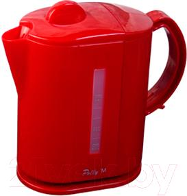 Электрочайник Polly M (красный) - общий вид