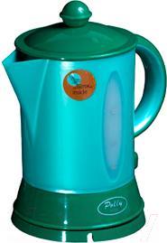 Электрочайник Polly Люкс (зеленый) - общий вид