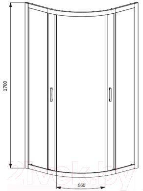 Душевой уголок Radaway Premium A900 (30401-01-06)