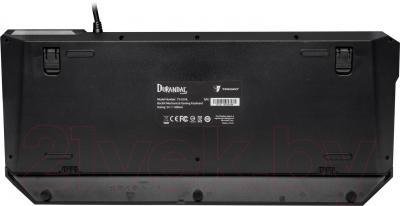 Клавиатура Tesoro Durandal Ultimate TS-G1NL (переключатели Cherry MX Blue) - вид сзади
