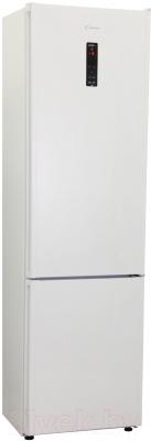 Холодильник с морозильником Candy CKBN 6200 DW (34001776) - общий вид