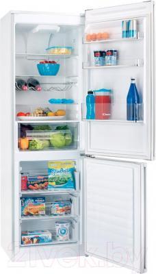 Холодильник с морозильником Candy CKBN 6180 DW (34001772) - внутренний вид