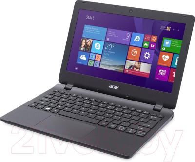 Ноутбук Acer Aspire ES1-111M-C1EY (NX.MRSER.003) - вполоборота