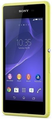 Смартфон Sony Xperia E3 Dual / D2212 (желтый)