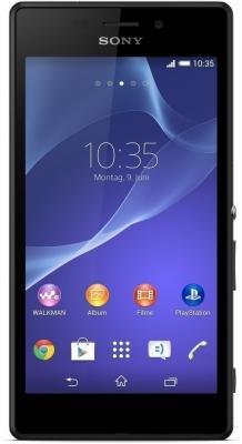 Смартфон Sony Xperia M2 Aqua / D2403 (черный)