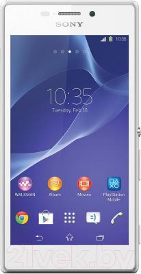 Смартфон Sony Xperia M2 Aqua / D2403 (белый)
