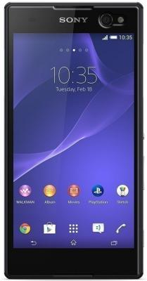 Смартфон Sony Xperia C3 / D2533 (черный)