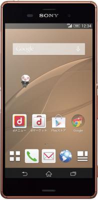 Смартфон Sony Xperia Z3 Dual / D6633 (медный)