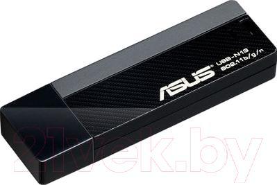 Беспроводной адаптер Asus USB-N13 - общий вид