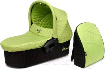 Люлька переносная для коляски 4Baby Atomic (зеленый) - общий вид