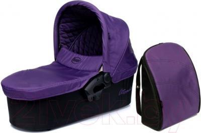 Люлька переносная для коляски 4Baby Atomic (фиолетовый) - общий вид