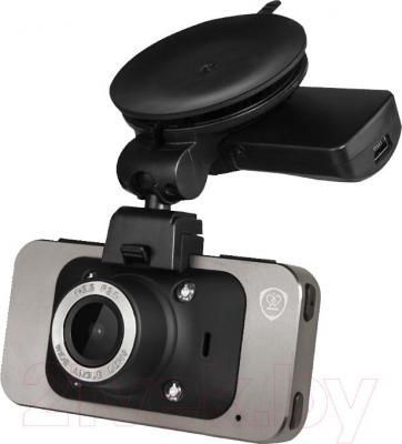 Автомобильный видеорегистратор Prestigio RoadRunner 560GPS (PCDVRR560GPS) - вид в проекции