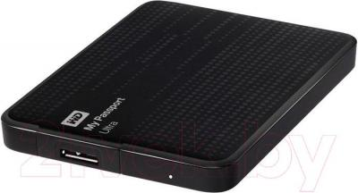 Внешний жесткий диск Western Digital My Passport Ultra 500GB Black (WDBPGC5000ABK) - общий вид