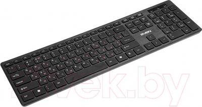 Клавиатура Sven Elegance 5800 (черная) - общий вид