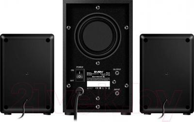 Мультимедиа акустика Sven MS-90 (черный) - вид сзади