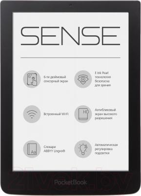 Электронная книга PocketBook Sense 630 (темно-коричневый) - общий вид