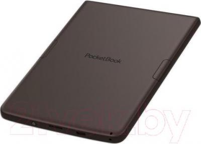 Электронная книга PocketBook Sense 630 (темно-коричневый) - вид сзади