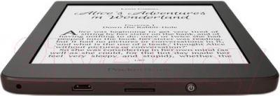Электронная книга PocketBook Sense 630 (темно-коричневый) - вид снизу