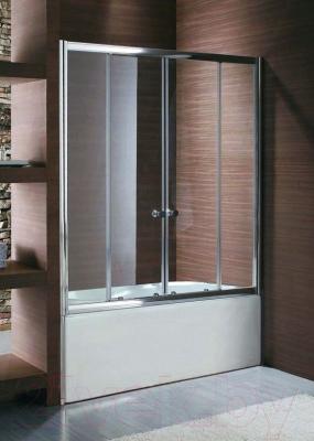 Стеклянная шторка для ванны Акваль ES004/150
