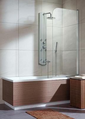 Стеклянная шторка для ванны Radaway EOS PNJ 70/R (205101-101R)